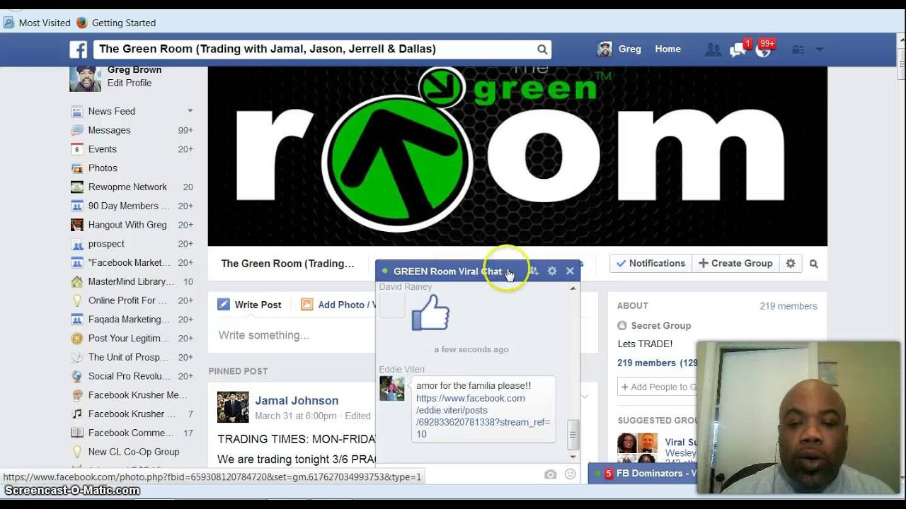 The green room binary option trading
