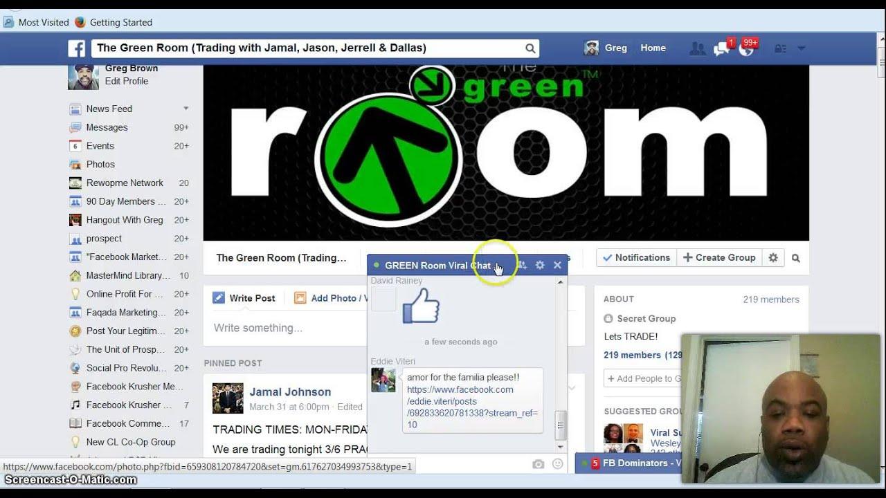Binary options green room