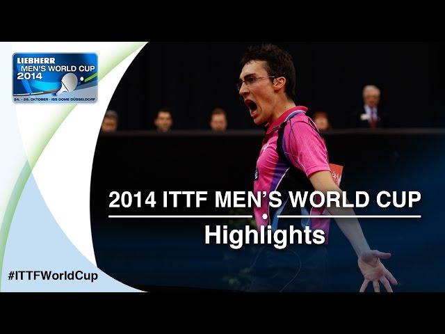 2014 Men's World Cup Highlights:GIONIS Panagiotis vs MATTENET Adrien (Qual Groups)