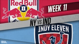 New York Red Bulls II vs Indy Eleven: May 27, 2018