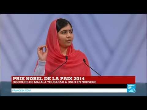 REPLAY - Revoir le discours de Malala Yousafzai pour le prix Nobel de la paix en intégralité