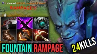 Top 1 Riki Spammer With 4,025 Matches - EPIC RAMPAGE IN FOUNTAIN 24Kills By Chosen Dota 2 HIghlight