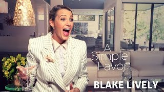 A Simple Favor interview: Decorating cupcakes and drinking gin with Blake Lively