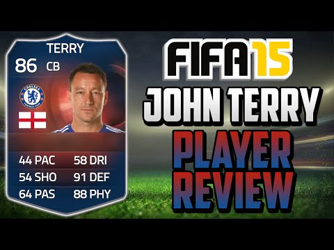 FIFA 15 Record Breaker Terry Review (86) w/ In Game Stats & Gameplay - Fifa 15 Player Review