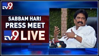 Sabbam Hari Press Meet LIVE || Vizag