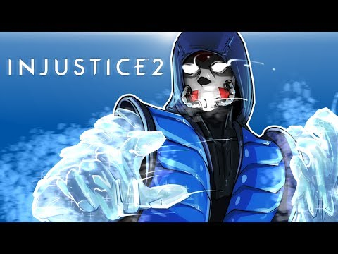 INJUSTICE 2 - SUB-ZERO DLC CHARACTER!!! THE LAG IS REAL!