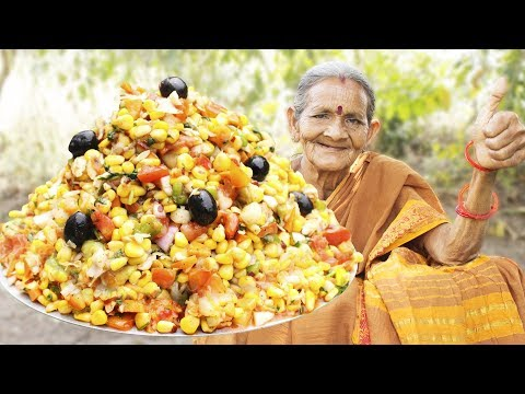 Veg Salad Recipe || Quick and Healthy Vegetable Salad || Myna Street Food