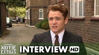 Legend (2015) Behind the Scenes Movie Interview - Taron Egerton is 'Teddy Smith'