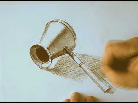 Coffee Pot Drawing Drawing Metal Coffee Pot