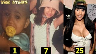 Cardi B | From 0 to 25 Years Old |Transformation Through The Years