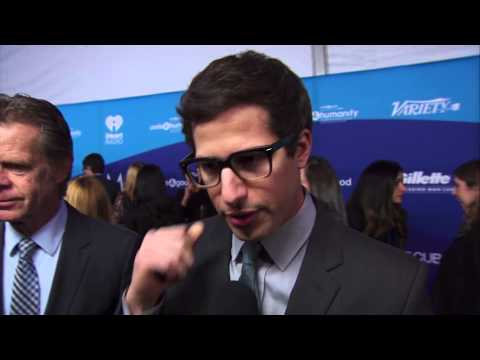 Andy Samberg Interview - Unite 4 Good For Humanity 2014