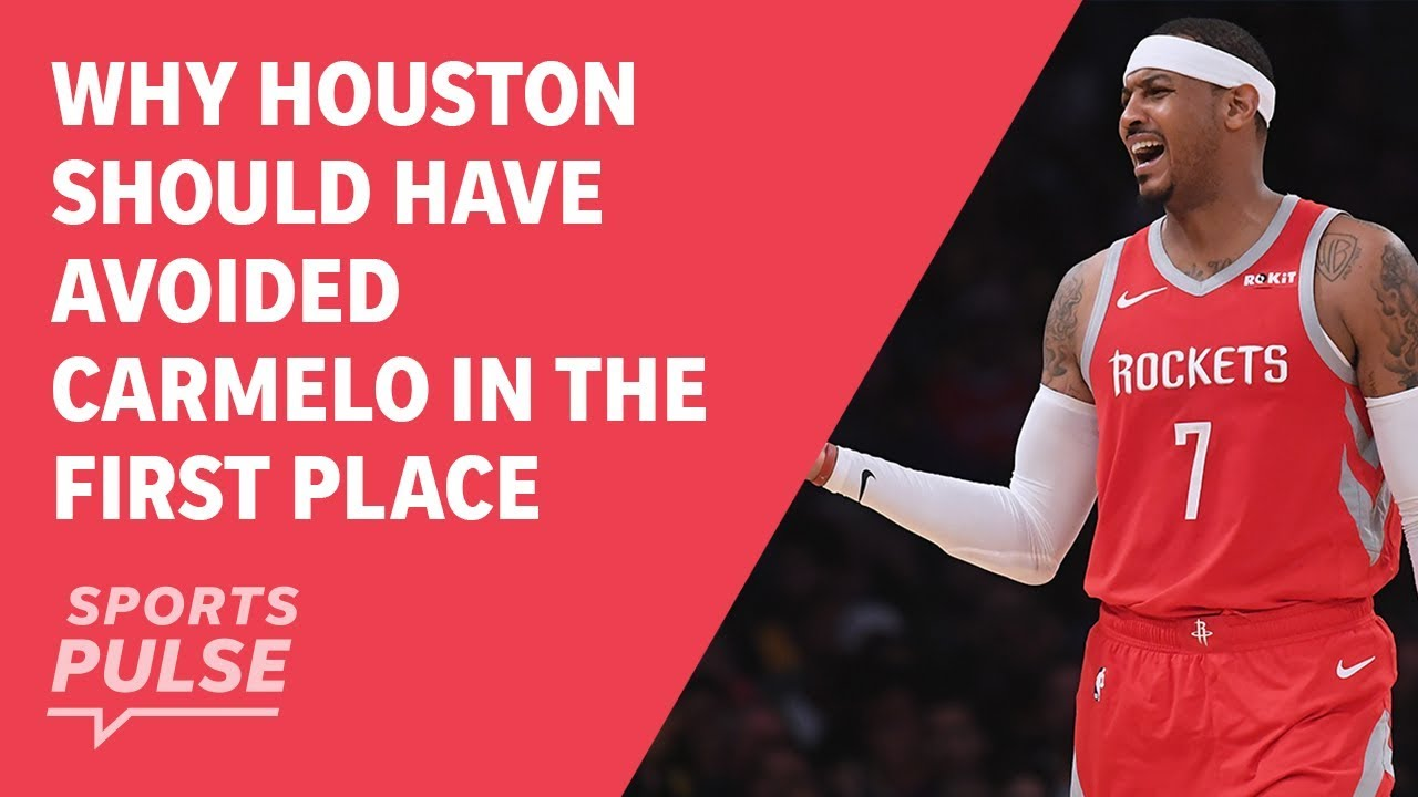 Why Houston should have avoided Carmelo in the first place