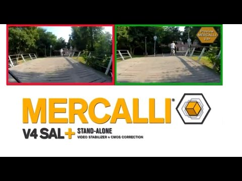 Mercalli V4 - Image stabilization + CMOS Correction in one package