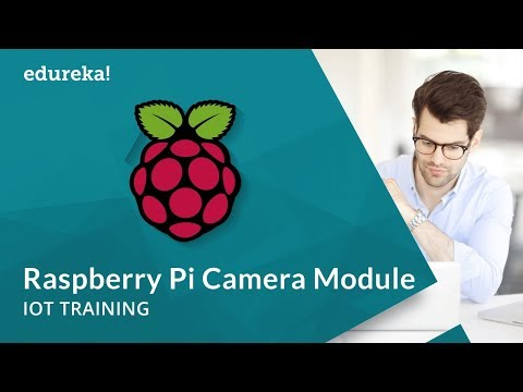 Raspberry Pi Camera Module | Raspberry Pi 3 IoT Projects | IoT Online Training | Edureka
