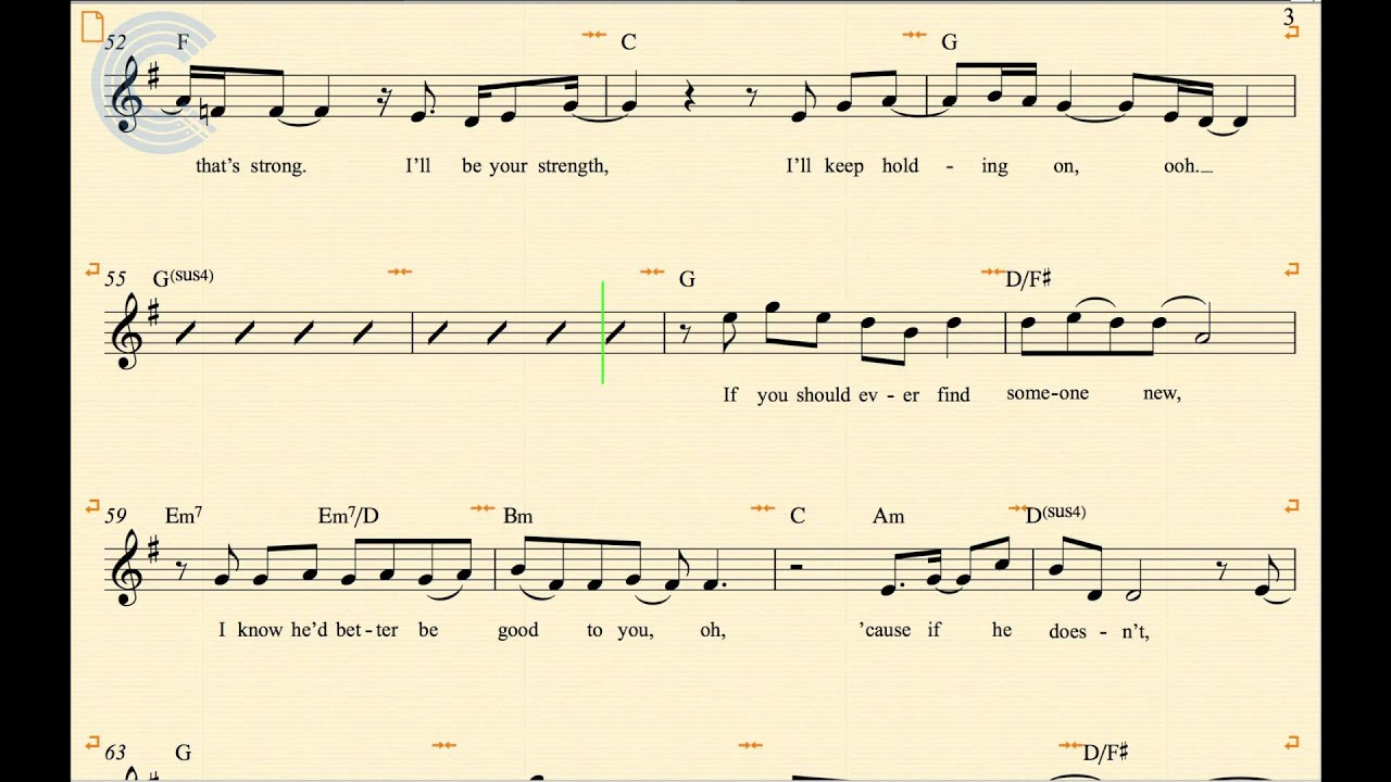 Clarinet i ll be there the jackson 5 sheet music chords