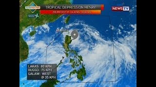 Weather update as of 535 p.m. July 16, 2018