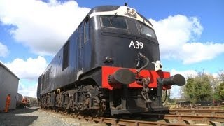 Metro-Vick A39 shunting at Downpatrick - 27/4/2013