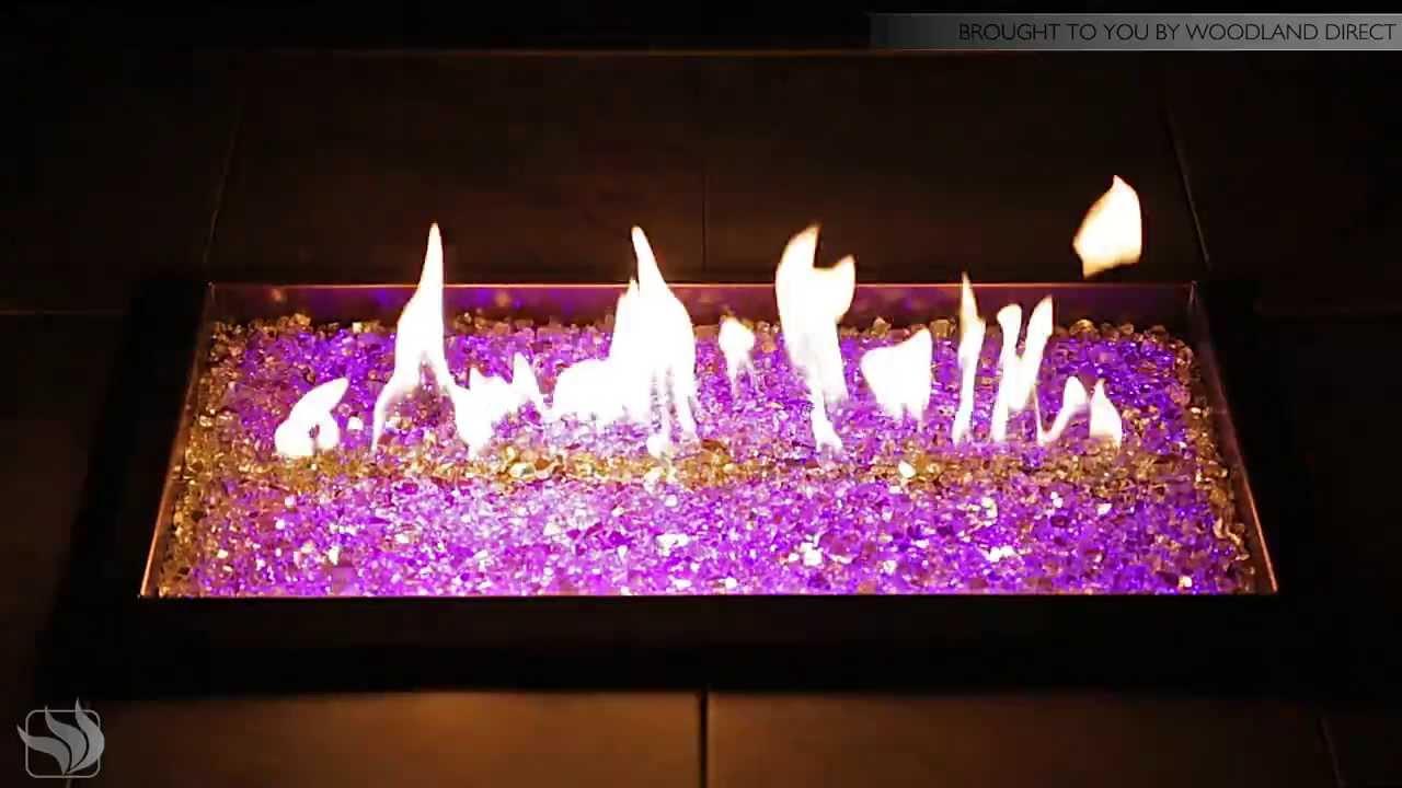 Glass Fire Pit Kits Fire Pit Table Light Kit