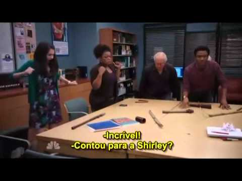 community - season 2 episode 1 - wedding part