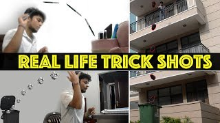 Real Life Trick Shots | Dude Perfect | India Desi Perfect