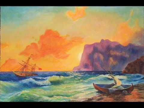 3 в каком году была написана картина айвазовского море коктебельская бухта