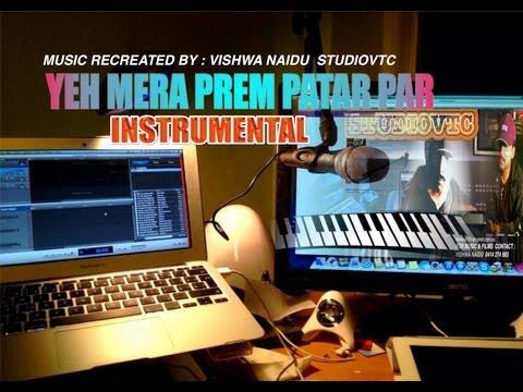 Yeh Mera Prem Patar Par Ke  Instrumental Music Studiovtc  Australia video