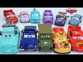 DISNEY PIXAR CARS 2017 COLLECTION NEW SERIES CHARACTERS LIGHTNING MCQUEEN MATER RACING