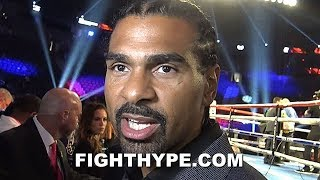DAVID HAYE REACTS TO TYSON FURY BEATING OTTO WALLIN BY DECISION; REASSESSES WILDER VS. FURY 2