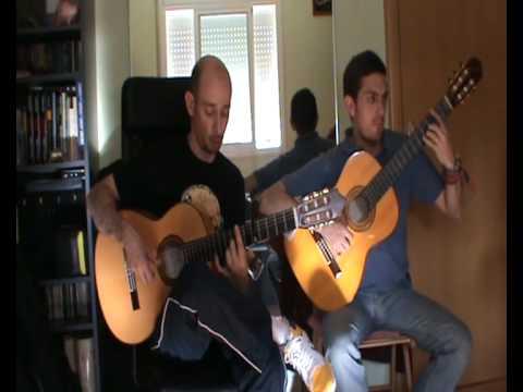 Guitarra Flamenca. Sabicas / M. Escudero - Camino del monte .avi