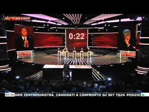 Tutto Matteo Renzi – Confronto Tv SkyTg24 – 12 novembre 2012