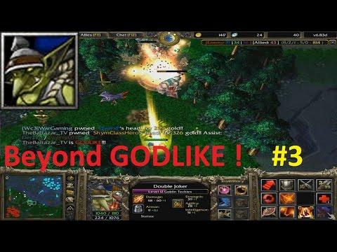 DotA 6.83d - Goblin Techies Beyond GODLIKE ! #3