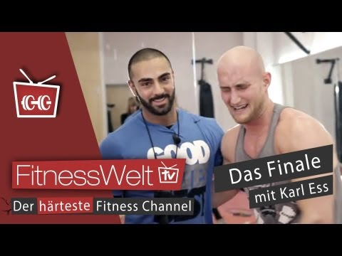Finale: Coach Seyit vs. Karl ESS! MMA Workout - UFC Fighter Training Bodybuilding vs. ATHLETE Image 1