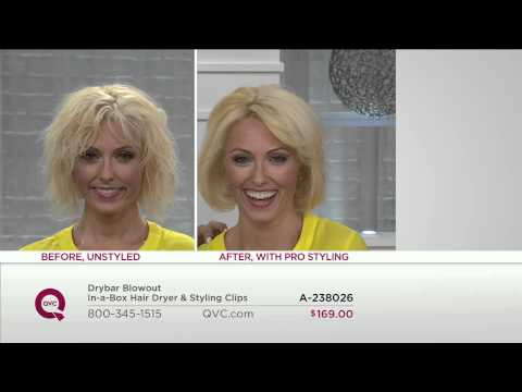 Drybar Blowout In-a-Box Hair Dryer & Styling Clips with Lisa Robertson