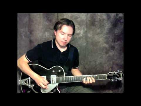 Rockabilly Guitar- Cliff Gallup style, Gretsch Duo Jet