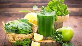 Витаминный смузи за 2 минуты - Постное меню - Зелёный коктейль для здоровья ♥ Green Smoothie Recipe