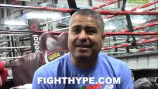 ROBERT GARCIA DOESN'T THINK CANELO SHOULD FACE GOLOVKIN NEXT: