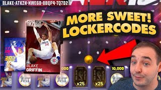NBA 2K19 My Team 3 MORE LOCKERCODES! FREE PINK DIAMOND PACKS! TONS OF TOKENS AND MT TOO!!!