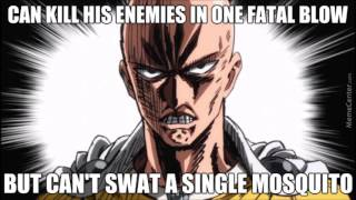 FUNNY ONE PUNCH MAN MEMES