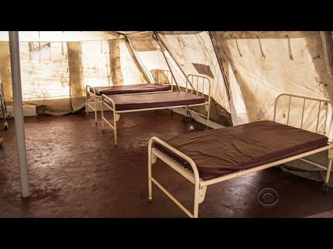 Ebola outbreak leads to shortage of hospital beds in Africa