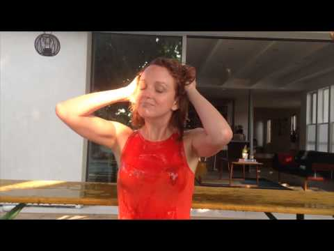 Jayma Mays Ice Bucket