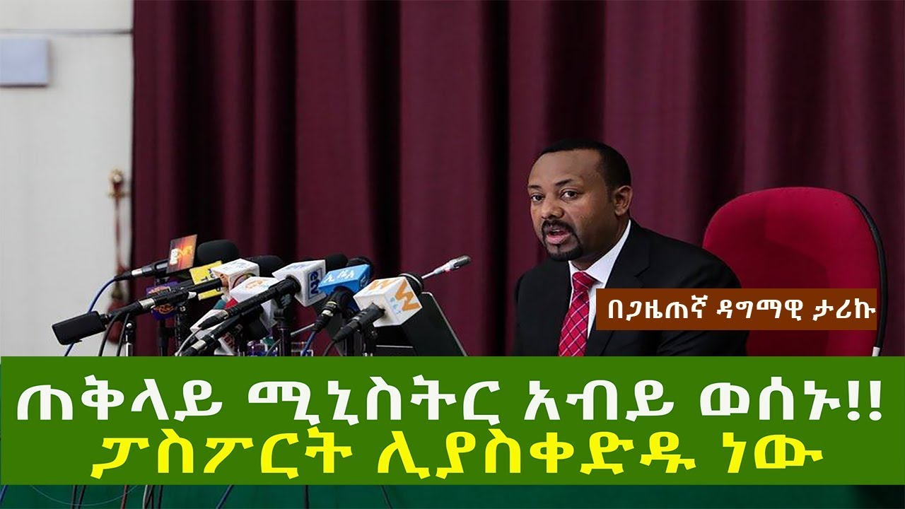 PM Abiy Ahmed message to Diaspora opposition parties