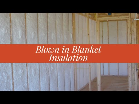 Blown In Blanket Fiberglass Insulation Youtube
