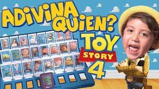 ADIVINA QUIEN TOY STORY 4 / YO SOY el VERDADERO BUZZ LIGHTYEAR
