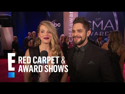 Thomas Rhett Gushes Over Kids & Family at 2017 CMAs  E!  from the Red Carpet
