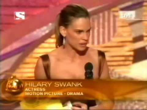 Hilary Swank - Golden Globe 2005 - Best Actress in Motion Picture - Drama