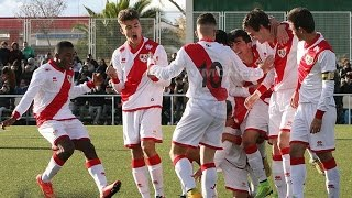 @RVMOficial Vídeo resumen del Rayo Juvenil A 2 - Real Madrid 1