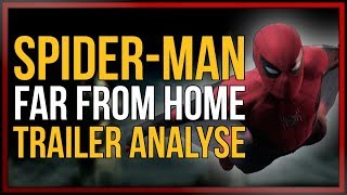 SPIDER-MAN: Far From Home | TRAILER Analyse und EASTER EGGS | [onsXreen]