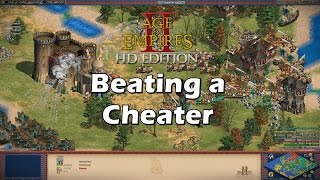 Cheater Host Defeated | AoE2 HD West Euro Diplomacy [Rigged Map]