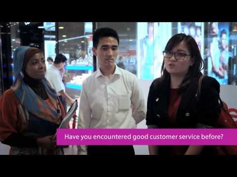 Have you encountered good customer service before?