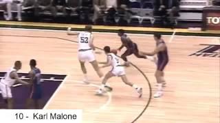 NBA史上最骯髒的10個瞬間(karl malon, barkley, bowen當然還有小蟲Rodman)皆上榜